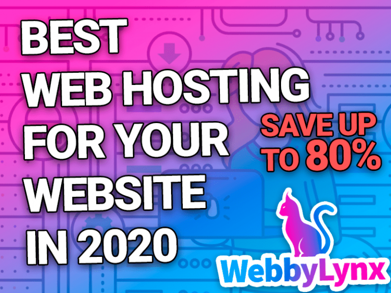 TOP BEST WEB HOSTING SERVICES FOR YOUR WEBSITE IN 2020